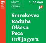 NOV PLANINSKI ZEMLJEVID: Smrekovec, Raduha, Olševa, Peca, Uršlja gora